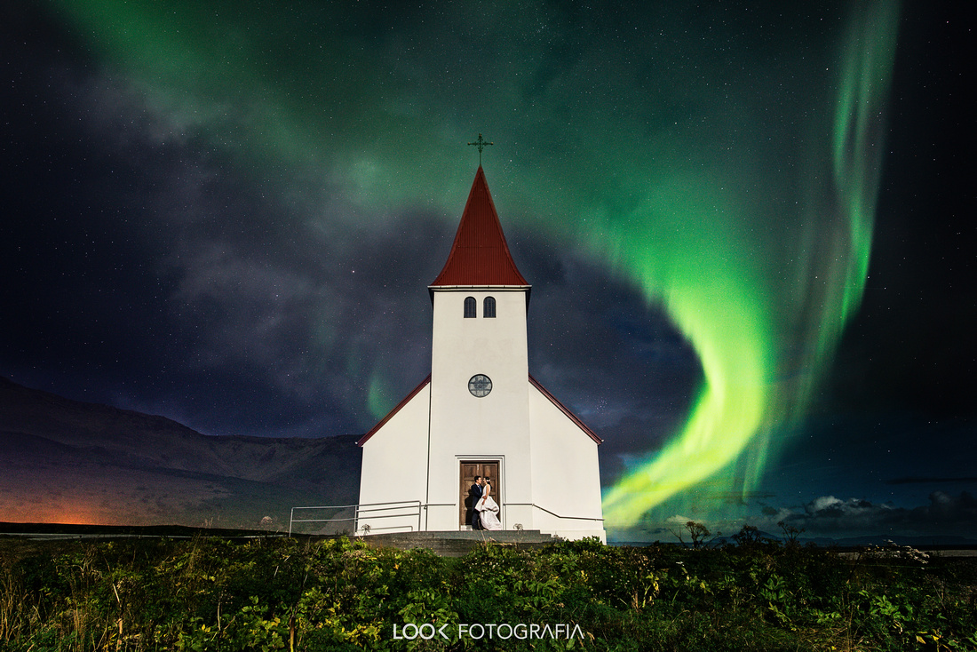Photos Northerm Ligth Wedding Iceland Aurora borealis wedding Iceland