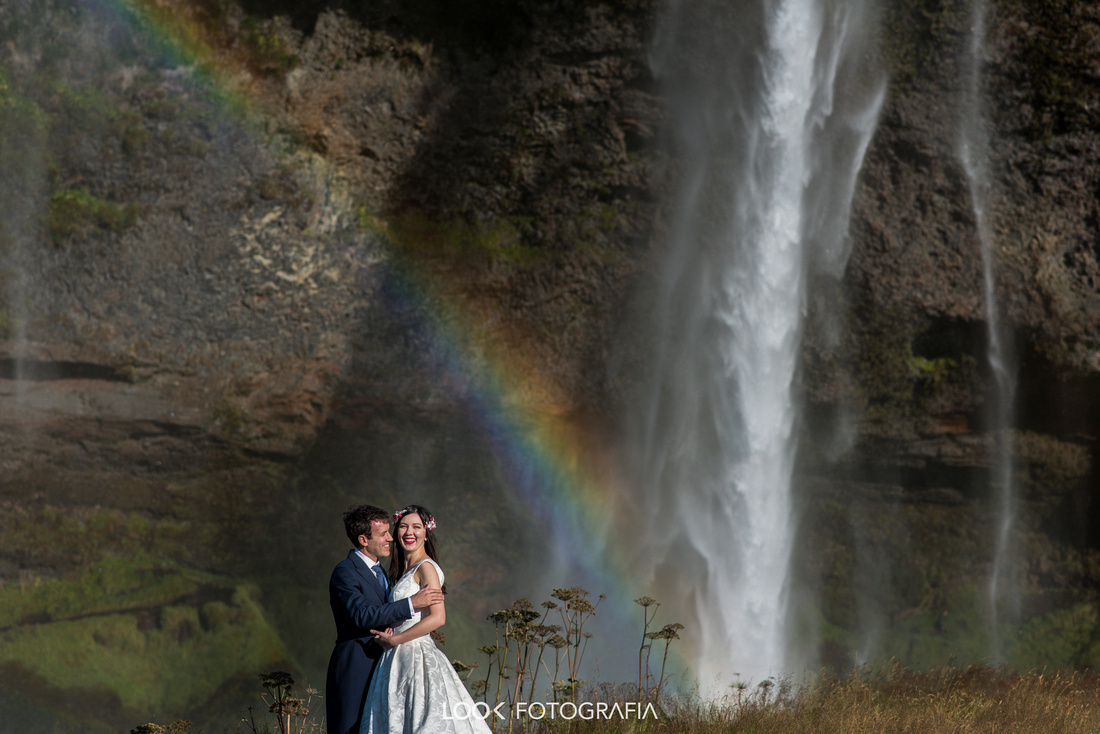 Skógafoss Wedding Photography