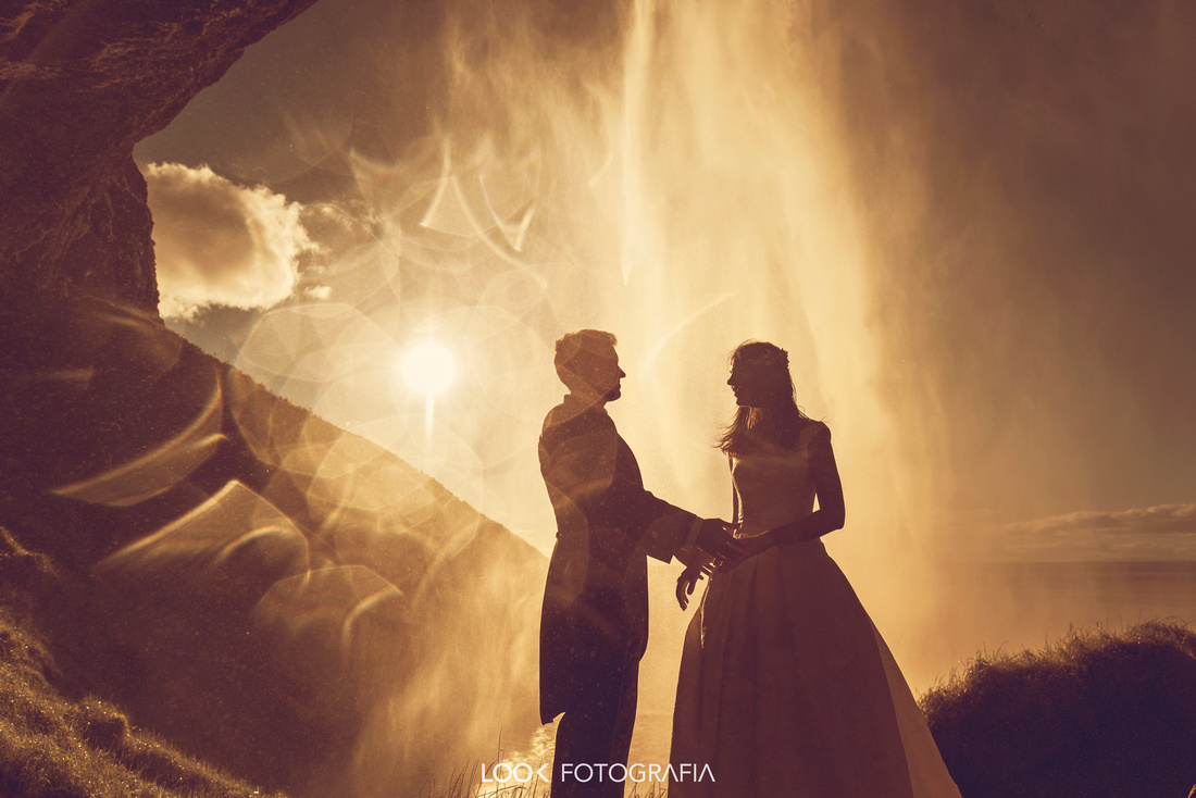 Skogafoss Wedding Photography