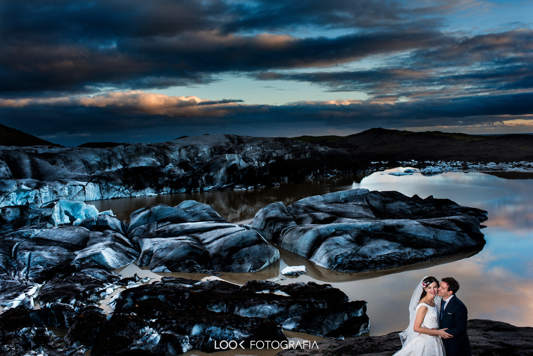 Vatnajökull Wedding Photography Iceland