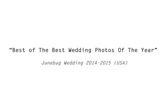 Best of the Best Wedding Photos of the year